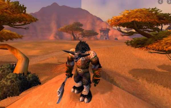 A sweet racing track built by fans in World of Warcraft